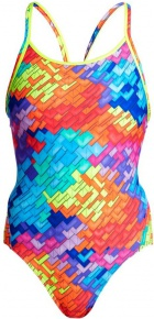 Funkita Layer Cake Diamond Back One Piece