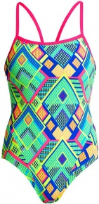 Funkita Diamond Fire Single Strap One Piece