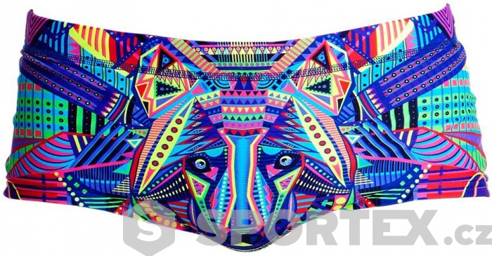 Funky Trunks Wolf Pack Plain Front Trunks