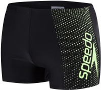 Speedo Gala Logo Aquashort Black/Bright Zest