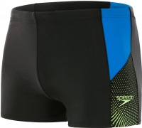 Speedo Dive Aquashort Black/Brilliant Blue/Bright Zest