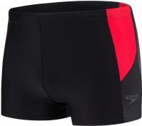 Speedo Dive Aquashort Black/Lava Red/Oxid Grey