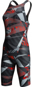 Tyr Avictor Female Open Back Grey/Red