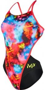 Michael Phelps Foggy Open Back Multicolor/Black