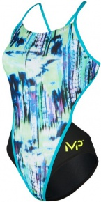 Michael Phelps Freeze Open Back Multicolor/Black