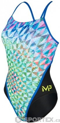 Michael Phelps Chrystal Racing Back Multicolor/Black