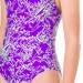 Speedo Boom Allover Splashback Girl Royal Purple/Bright Zest