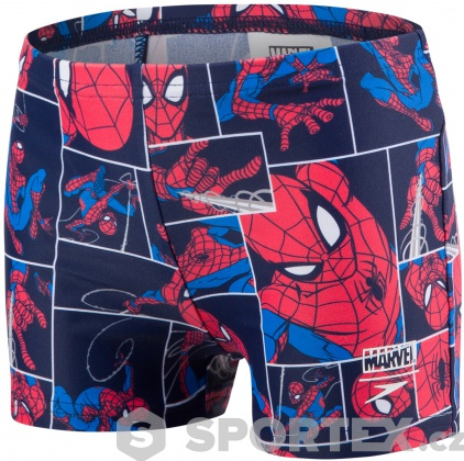 Speedo Marvel Spiderman Aquashort Boy Navy/Lava Red/Neon Blue