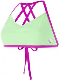 Speedo Neon Freestyler Top Bright Zest/Neon Orchid