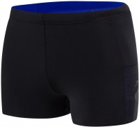 Speedo Mesh Panel Aquashort Black/Chroma Blue