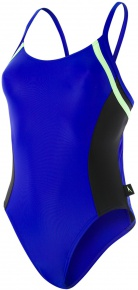 Speedo Hydractive 1 Piece Chroma Blue/Black/Bright Zest