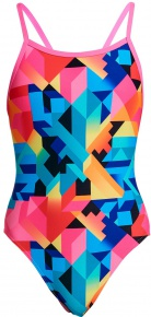 Funkita Colour Burst Single Strap One Piece Girls