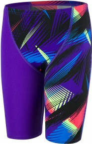 Speedo Fastskin Endurance+ High Waist Jammer Boy Rockplosion/Black/Chroma Blue