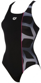 Arena Spider Panel One Piece Black