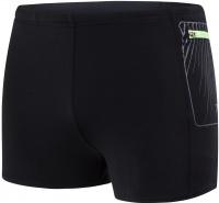 Speedo Contrast Pocket Aquashort Black/Oxid Grey