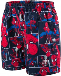 Speedo Marvel Spiderman Watershort 11 Boy Navy/Lava Red/Neon Blue
