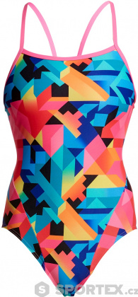 Funkita Colour Burst Single Strap One Piece