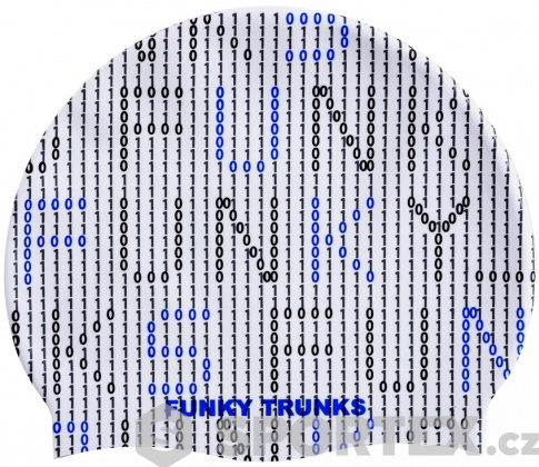 Funky Trunks Binary Bro Swimming Cap