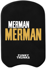 Funky Trunks Golden Merman Kickboard