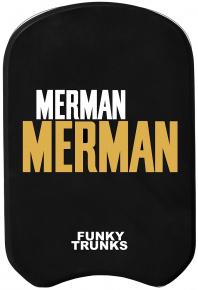 Funky Trunks Golden Merman Kickboard