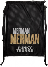 Funky Trunks Golden Merman Mesh Gear Bag