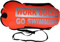 BornToSwim Work Sucks Go Swimming Dry Bag Buoy