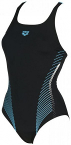 Arena Fluids One Piece B Black/Sea Blue