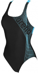 58d642c10 Arena Altair Swim Pro One Piece Black/Sea Blue