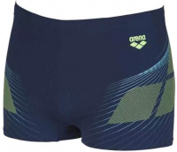 Arena One Poseidon Short Navy/Shiny Green