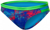 Tyr Canvas Cove Mini Bikini Bottom Red/Turquoise/Blue