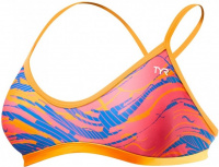 Tyr Wave Rider Trinity Top Pink/Blue