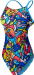 Tyr Astratto Cutoutfit Blue/Multi