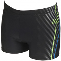 Arena Roy Short Black/Shiny Green