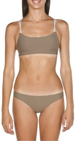 Arena Cross Bandeau Two Pieces Army