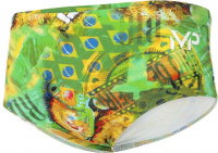 Michael Phelps Corco Man Brief Green/Yellow