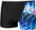 Speedo Fractal Glaze Allover Digital V Panel Aquashort Black/Chroma Blue/Aquasplash