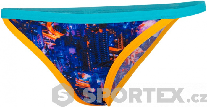 Speedo Kanji Lights Tulip Brief Black/Psycho Red/Papaya Punch/Aquasplash/White