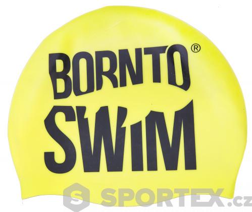 Silikonová čepice BornToSwim Classic Silicone