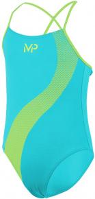 Michael Phelps Lumy Girls Turquoise/Bright Yellow
