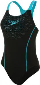 Speedo Gala Logo Medalist Black/Aquasplash