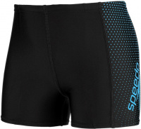 Speedo Gala Logo Panel Aquashort Boy Black/Windsor Blue