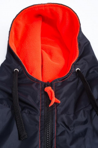 BornToSwim Parka Black/Orange