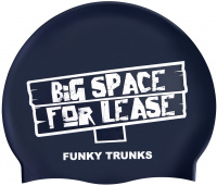 Funky Trunks Space for Lease Swimming Cap