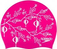 Plavecká čepička Speedo Slogan Print Cap