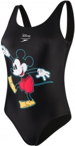Speedo Mickey Placement U Back Black/Red/Yellow/White