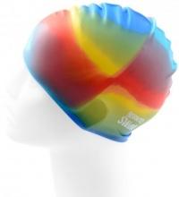 BornToSwim Rainbow Swim Cap Junior