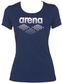 Arena Essential S/S Big Logo Tee Navy