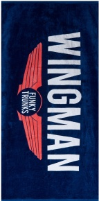 Funky Trunks Navy Wingman Towel