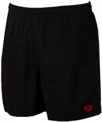 Arena Fundamentals Sides Vent Boxer Black/Shiny Red