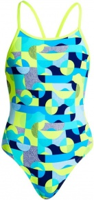 Funkita Sand Storm Diamond Back One Piece Girls